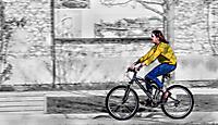 64eme - Annie Cherpin - un vélo dans la ville - 40 points