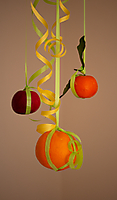 Annie Cherpin 3 fruitss pendus (1)